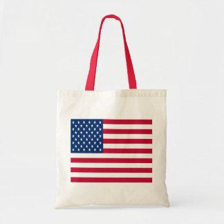 USA flagga Budget Tygkasse