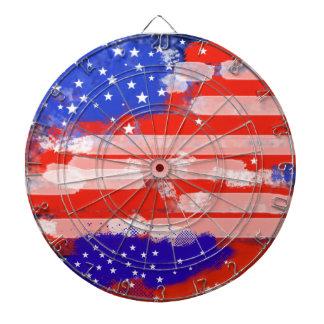USA flagga Darttavla