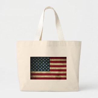 USA flagga Jumbo Tygkasse