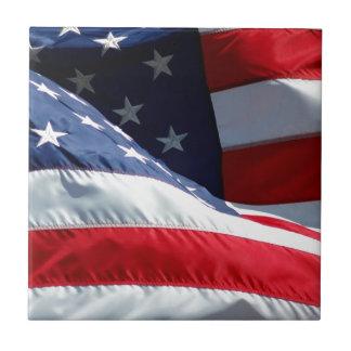 USA flagga Kakel