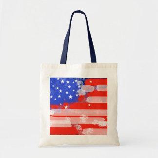 USA flagga Tygkasse