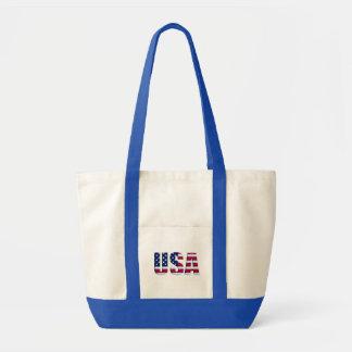 USA flagga Impulse Tygkasse