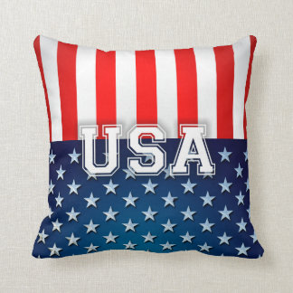 USA flagga Kudde