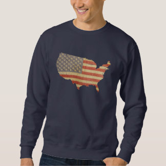 USA flagga & landskjorta Sweatshirt