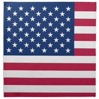 USA flaggaamerikanMoJo servett