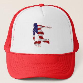 USA flaggabowlingspelare Keps