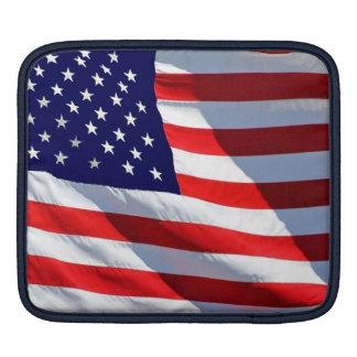 USA flaggaipad sleeve Sleeve För iPads