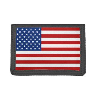 USA flaggaplånbok