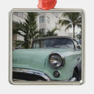 USA Florida, Miami Beach: Södra strand, 1956 3 Julgransprydnad Metall