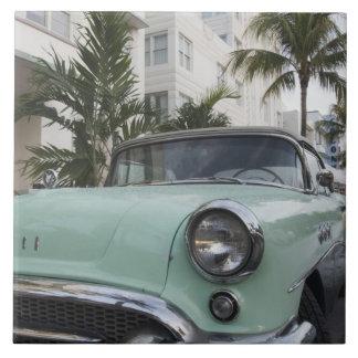 USA Florida, Miami Beach: Södra strand, 1956 3 Kakelplatta