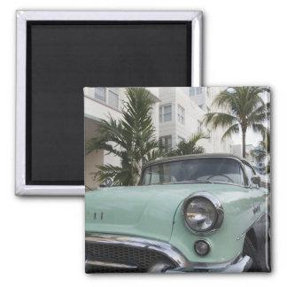 USA Florida, Miami Beach: Södra strand, 1956 3 Magnet
