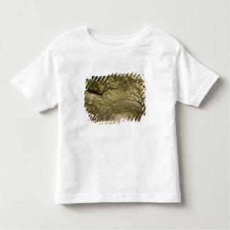 USA Georgia, Savannah, en oak fodrade drev in T Shirt