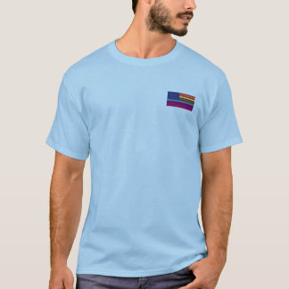USA glada flaggamanar t-skjorta Tee
