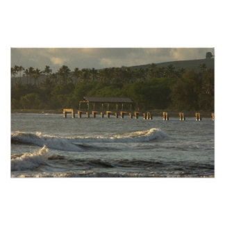 USA Hawaii, Kauai, southwestkusten, nära Poster