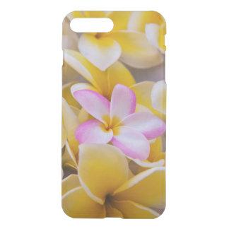 USA Hawaii, Oahu, Plumeria blommar i blom 1 iPhone 7 Plus Skal