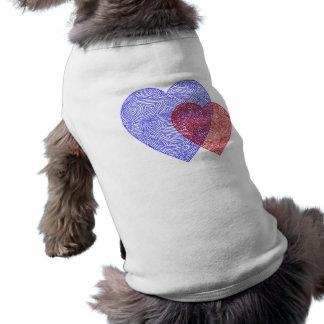 USA hjärtahund tröja Långärmad Hundtöja