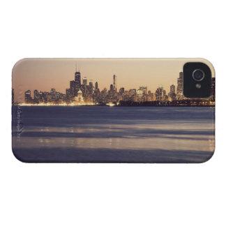 USA Illinois, Chicago, horisont på solnedgången Case-Mate iPhone 4 Skydd