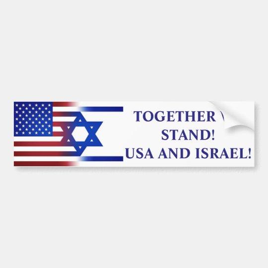 USA, ISRAEL! BILDEKAL