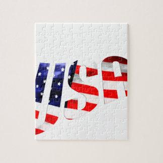 USA-logotyp Pussel