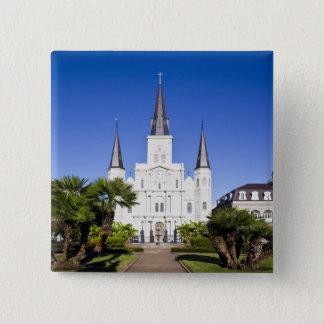 USA Louisiana, New Orleans. Fransk inkvarterar, Standard Kanpp Fyrkantig 5.1 Cm