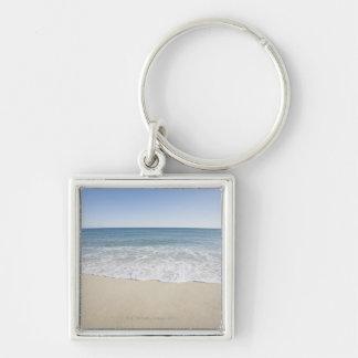 USA Massachusetts, uddtorsk, Nantucket, Fyrkantig Silverfärgad Nyckelring
