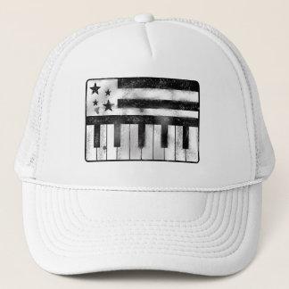USA musikalisk flagga Truckerkeps