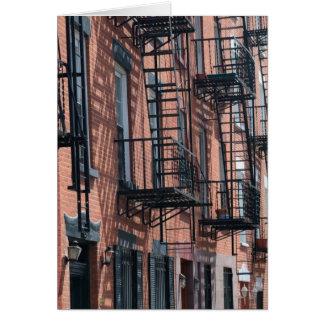 USA New York, New York City, Brooklyn: Kullersten Hälsningskort