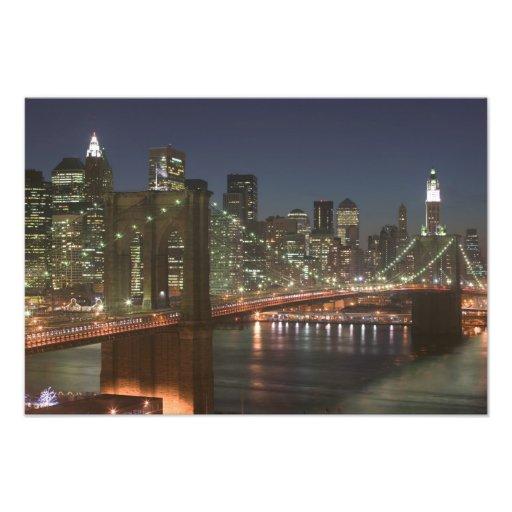 USA New York, New York City, Manhattan: 10 Fotontryck