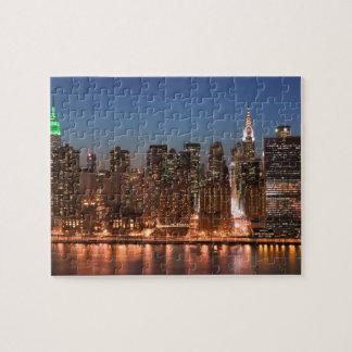 USA New York, New York City, Manhattan: Antenn Pussel