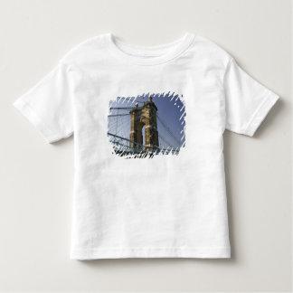 USA Ohio, Cincinnati: Roebling upphängning 3 Tee Shirt