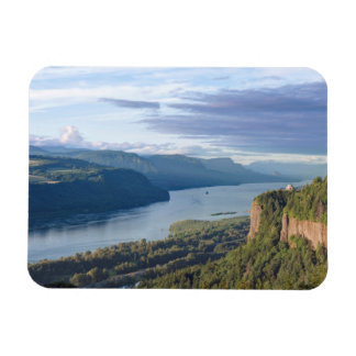 USA Oregon, Columbia River klyfta, utsikthus Magnet