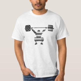 USA OS som lyfter den Mono utslagsplatsen T-shirts