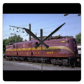 USA Pennsylvania RR GG-1_Trains av världen Fyrkantig Klocka