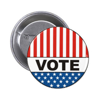 USA-presidentval röstar emblem politisk 2012 Nål