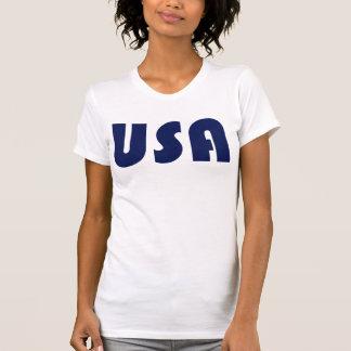 USA Racerback T-tröja T Shirt