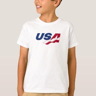 USA racquetballen lurar utslagsplatsskjortan T Shirts