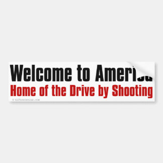 USA reser rådgivande Bildekal