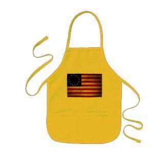USA revolutionflagga Barnförkläde