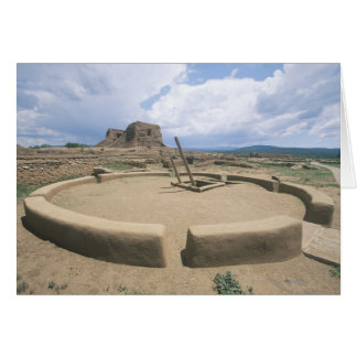 USA som är ny - den historiska mexico, Pecos Hälsningskort