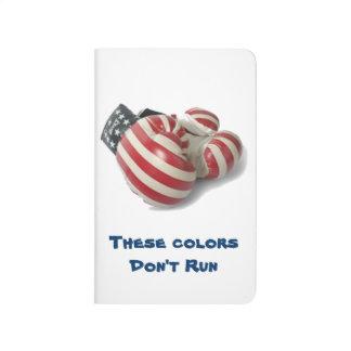 USA som boxas handskar Dagböcker
