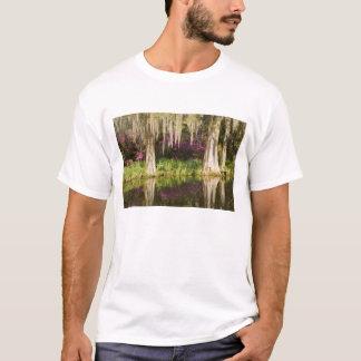 USA South Carolina, Charleston. Cypress träd Tee Shirt