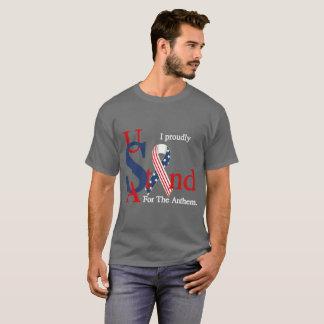 USA står Proudly för T-shirt