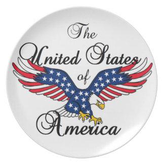 USA TALLRIK