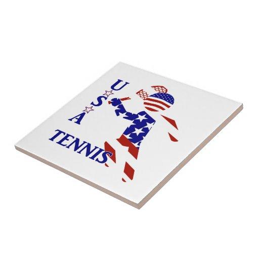 USA tennisspelare - manar tennis Keramiska Plattor