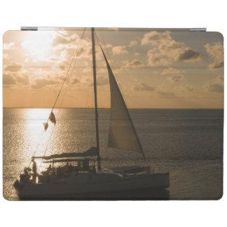 USA Texas, södra Padre ö. Segelbåt iPad Skydd