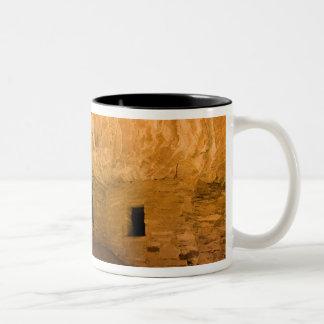 USA Utah, cederträMesa, Mulekanjon. Sandsten Två-Tonad Mugg
