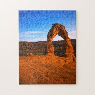 USA Utah, välva sig nationalparken, delikat båge Pussel