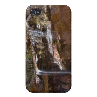 USA Utah, Zion nationalpark, vattennedgångar på iPhone 4 Skydd