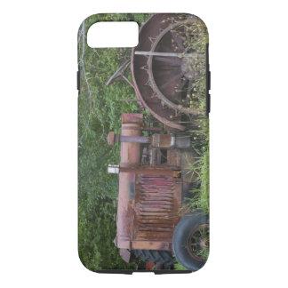 USA Vermont, MANCHESTER: Antik lantgårdtraktor