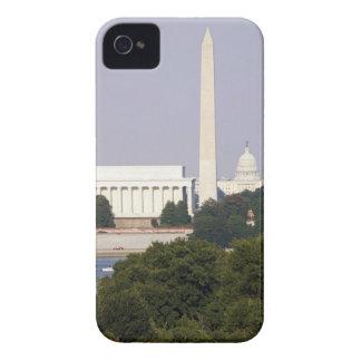 USA, Washington DC, Washington monument och US iPhone 4 Case-Mate Cases